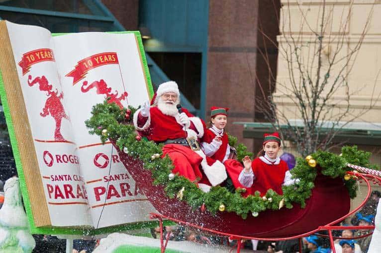 Santa's Parade in Toronto