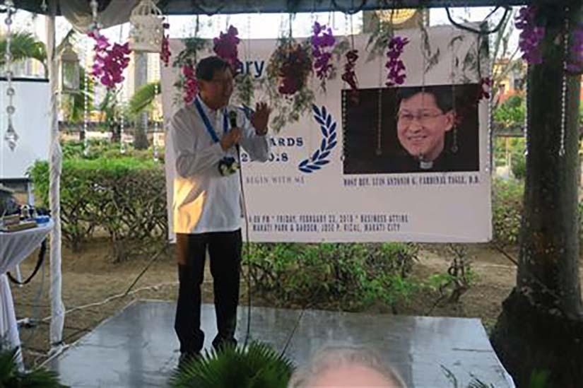 Cardinal Tagle Conferred 2018 Rotary Peace Award
