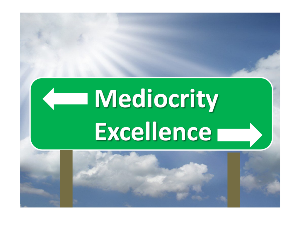 The Iniquities of Complacency and Mediocrity